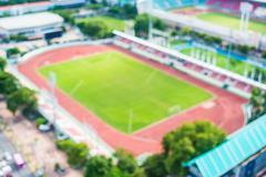 Abstract blur football stadium Kuvituskuvat