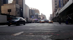 NYC - 8th Ave - Timelapse - Day Stock Footage