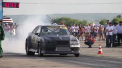 Race slippage Stock Footage