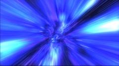 Wormhole Blue Stock Footage