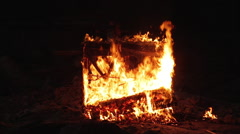 Piano on fire musical instrument Arkistovideo