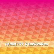 Geometry multicolored background, vector design Stock Illustration
