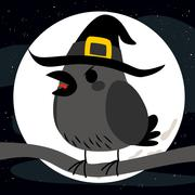 Halloween Crow Stock Illustration
