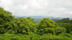 Panorama in the mountains Stock Footage