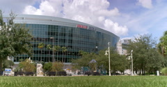 Amalie Arena Wide Shot One Stock Footage