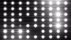 VJ Lights Blinking Grey. Stock Footage