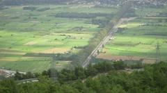 4K Gokova landscape view at Akyaka, Turkey. Stock Footage