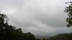 Heavy Winter Rain Storm Soaking the Valley  Stock Footage