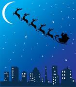 Vector Santa Claus Stock Illustration