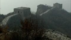 Simatai Great Wall Stock Footage