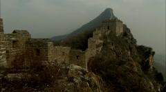 Simatai Great Wall of China Stock Footage