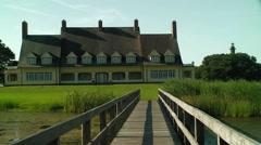 Historic whale head club corolla nc Stock Footage