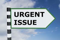 Urgent Issue concept Stock Illustration