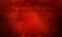 Red rotten wood texture, grunge and abrasion on lighting for background Stock Photos