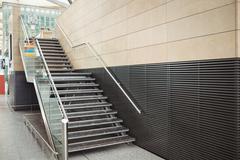 Staircase in airport terminal Kuvituskuvat