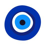 Evil eye symbol Stock Illustration