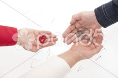 Complicated relationships. - stock photo