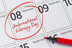 International literacy day, September 8 Stock Photos