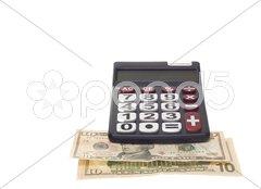 Hand calculator Stock Photos