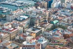 Alicante, Spain: View of the city Stock Photos