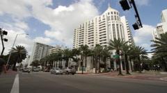 Miami Beach Florida Lowes Stock Footage