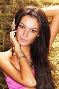 Girl in beautiful lingerie Stock Photos