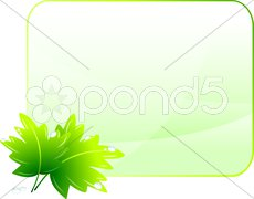 Green Environmental Conservation Background - stock illustration