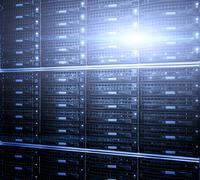 Supercomputer disk storage in modern data center Kuvituskuvat