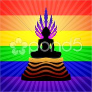 Buddha Statue Stock Illustration