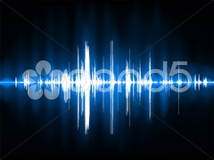 Pulse Wave Background Piirros