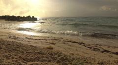 Miami Beach Sunrise Stock Footage