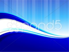 Blue wave pattern internet background Stock Illustration
