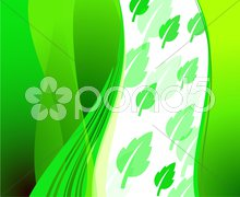 Green Environmental Conservation Background Stock Illustration