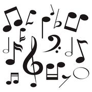 Music note icon Piirros