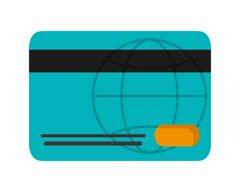 Credit or debit card icon Stock Illustration