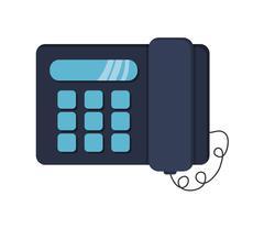 Landline telephone icon Stock Illustration