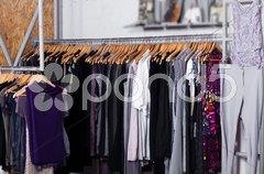 Fashion clothes for sale Stock Photos