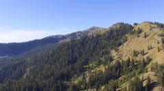 Ridgleline, Deer Valley, Utah Stock Footage
