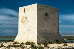 Old Watchtower in Spain Stock Photos