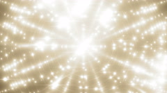 VJ Fractal gold kaleidoscopic background. Stock Footage