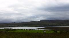 4K UltraHD A Timelapse scene on the Isle of Skye, Scotland Stock Footage