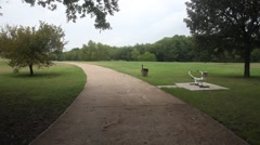 Champion Trail in Las Colinas Texas. Stock Footage