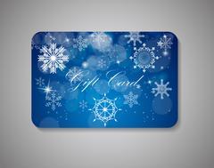 Beautiful Gift Card. Vector Illustration Stock Illustration