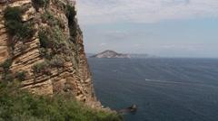 Island of Procida, Naples, Italy Stock Footage