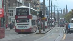 Princes Street, Edinburgh Stock Footage