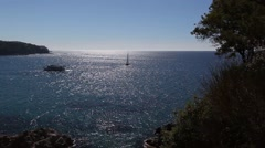 Lloret de mar sea views Stock Footage