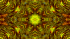 Wonderful abstract kaleidoscopic colored pattern with soft scaly texture Stock Footage