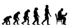 Evolution business Stock Illustration