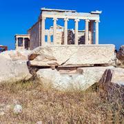 Columns of Erechteion, Acropolis, Athens Kuvituskuvat