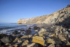 Sacred Cove in Rancho Palos Verdes California Stock Photos